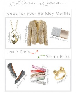 "Rosa Loves DC's ""Ideas for Your Holiday Outfits"""