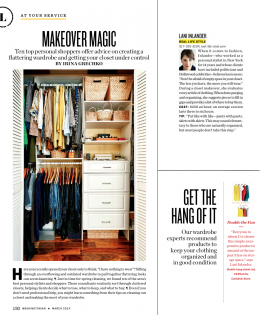 "Washingtonian Magazine's ""Makeover Magic"""