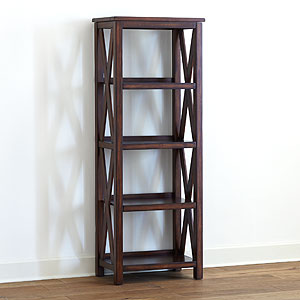 Verona Four Shelf Bookcase From World Market