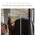 """Angelica in the City's """"30 Questions with Lani Inlander"""""""