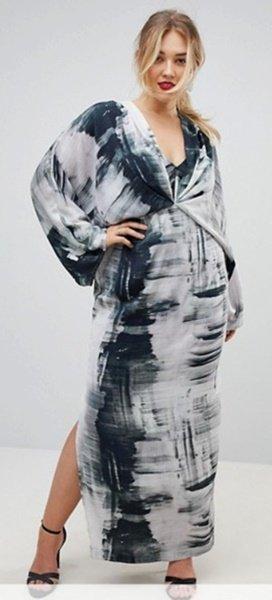 plus size asos dress