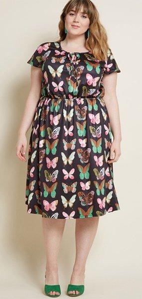 plus size modcloth dress