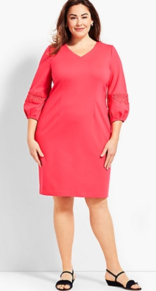 plus size talbots dress