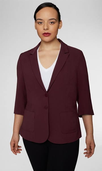 plus size universal standard blazer
