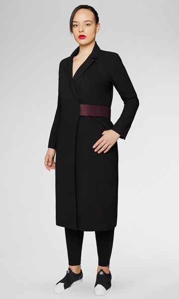 plus size universal standard coat