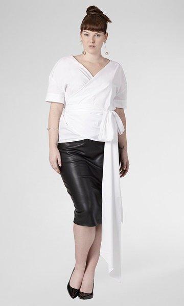 plus size universal standard blouse